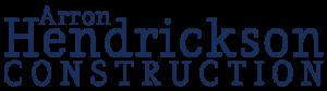 Arron Hendrickson Construction Logo